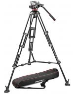 MANFROTTO 546BK + 504HD + BAG (middle spreader)