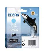 EPSON T7605 LIGHT CYAN