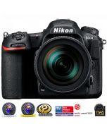 Nikon D500 + 16-80mm f/2.8-4 E ED VR -järjestelmäkamera