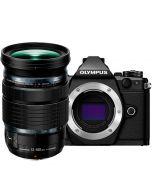 Olympus OM-D E-M5 Mark II + M.Zuiko 12-100mm f/4 ED IS Pro -järjestelmäkamera, musta