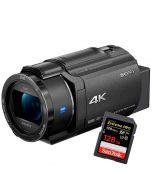 Sony FDR-AX43 + SanDisk Extreme Pro SDXC V30 128GB 170MB/s
